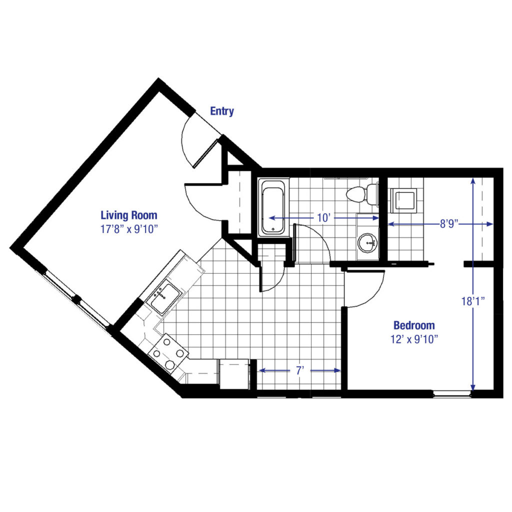 100 600 Square Foot Floor Plans 600 Sq Ft House