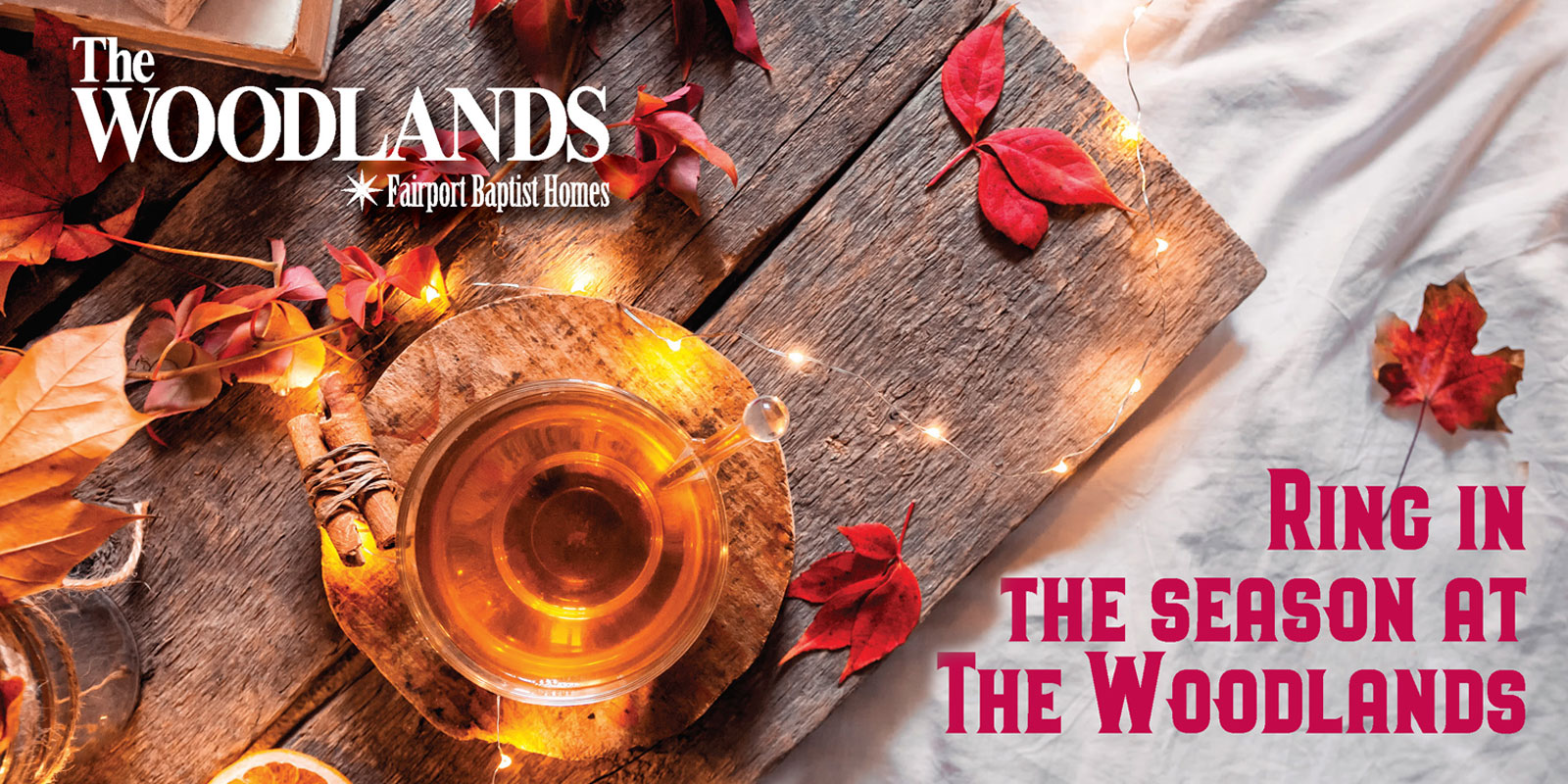 Ring in the season at The Woodlands